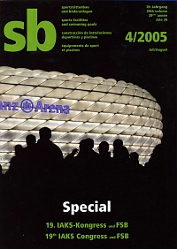 SB 4/2005 Special (19th IAKS Congress and FSB)