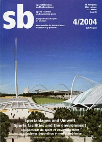 SB 4/2004 (Sports facilities and the environment)